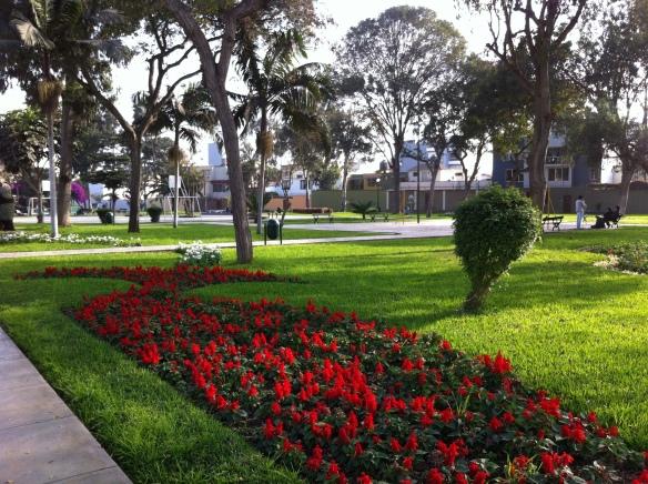 Parque. Santiago de Surco.